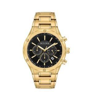 Bulova Men's Chronograph Gold Dress Watch